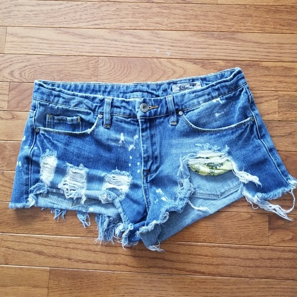 c77ed33498 Blank NYC Shorts | Ripped Destroyed Cheeky Denim 28 | Poshmark
